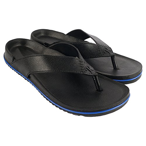 JPS TRADERS Black Men and Boys Regular slipper  available at amazon for Rs.119
