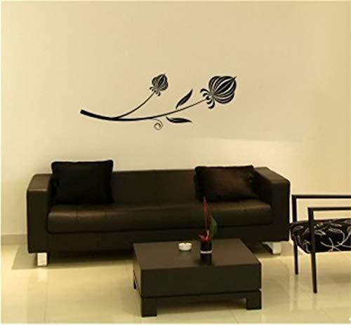 wandaufkleber babyzimmer mädchen Schöne Blüte Tulip Flower für Wohnzimmer Schlafzimmer Tv Sofa Background