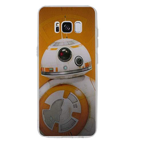 Star Wars Telefon Hülle/Case für Samsung Galaxy S7 (G930) mit Displayschutzfolie / Silikon Weiches Gel/TPU / iCHOOSE / BB-8