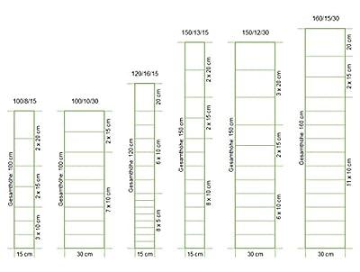 Wildzaun - Knotengeflecht in vielen Größen Frisch verz. Draht / Ø max 2% Toleranz (Wettb. bis 10%) von Bamboogla auf Du und dein Garten