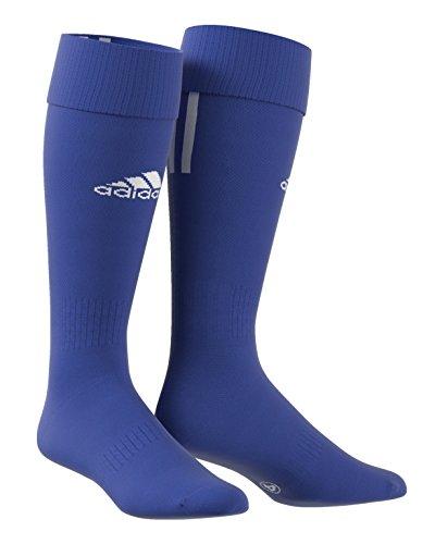 adidas Herren Fußballsocken Santos 3-Stripes, Blau (Cobalt/White), 40-42, Z56223 Preisvergleich