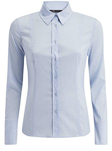 oodji-collection-donna-camicia-basic-in-cotone-blu-it-50-eu-46-xxl