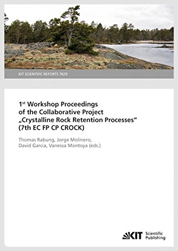 1st Workshop Proceedings of the Collaborative Project