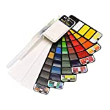 Haludock Powder watercolor paint collapsible transparent solid watercolor