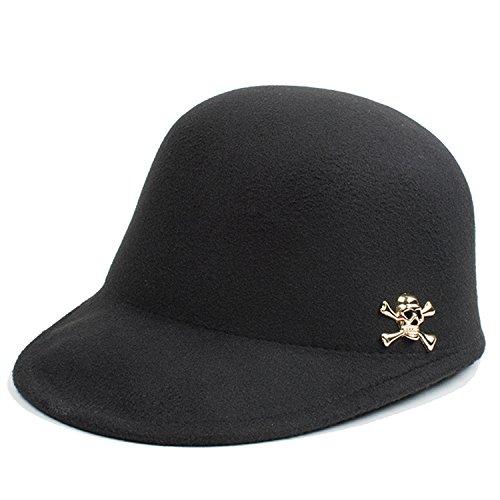 Belsen - Chapeau - Femme Schwarz