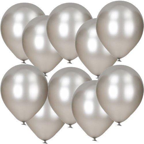 notjustballoons-lot-de-10-ballons-en-latex-argente-metal-30-cm