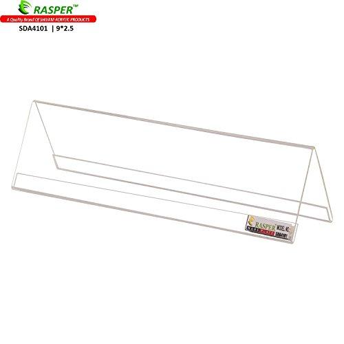 Rasper Acrylic Name Plate Table & Desk Name Plate For Office (PACK OF 10 PCS)