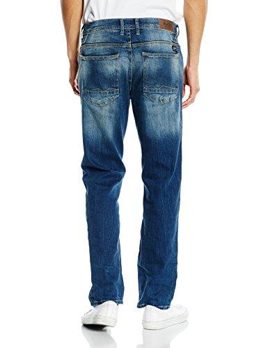 Blend Rock - Jeans - Droit - Homme Blau (76201 Denim Middle blue)