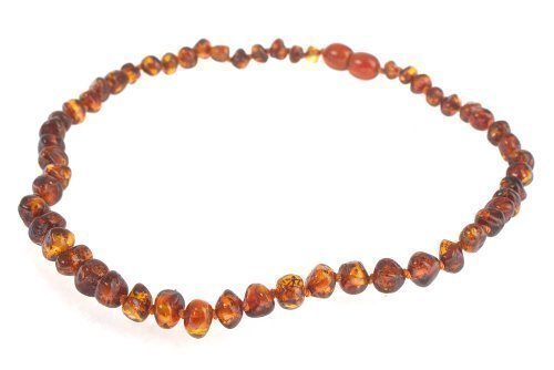 Amber Pumpkin Amber Necklace – 100% pure Baltic Amber Authentic 41bBeoMRHYL