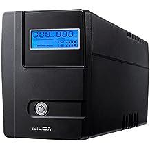 Nilox 17NXGCLI05002 - Sistema de alimentación ininterrumpida (1120 VA, 560 W)