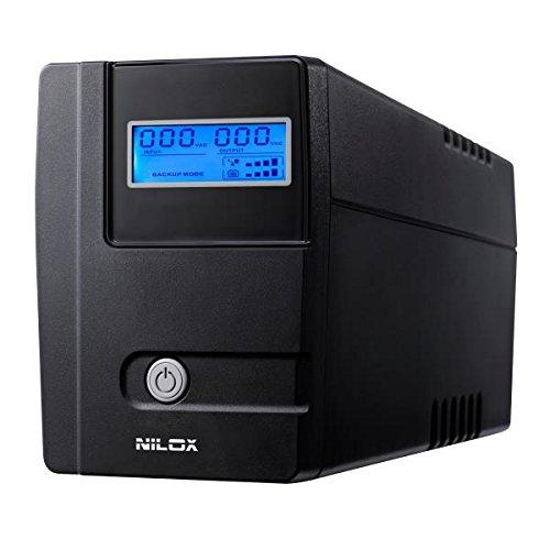 Nilox Value LCD Gruppo di Continuità UPS Line Interactive da