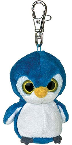 Aurora World 12551 - Yoo Hoo & Friends Kookee Fairy Penguin Key Clip Pinguin Schlüsselanhänger 3In/7.5 cm -