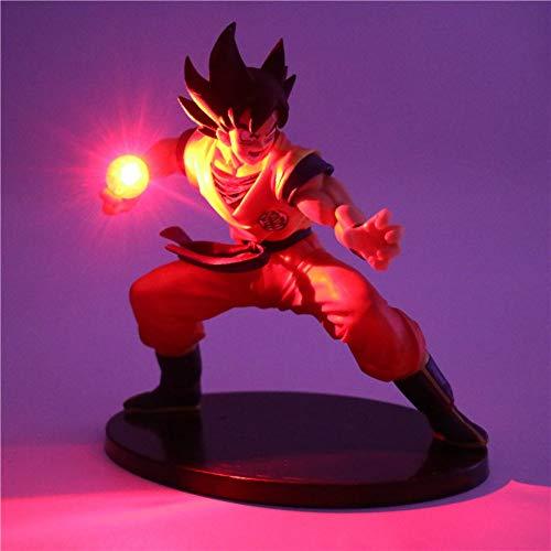 Dragon Ball Z Son Goku Figuras de acción Lámpara Led Modelo de Anime DIY Lámpara de mesa Muñecas Bebé Luz nocturna para habitación Niños Lámparas de decoración de juguetes, 4