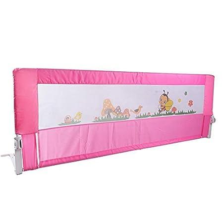 Bettgitter Bettschutzgitter Kinderbettgitter Babybettgitter Bett Gitter 2 Farbe 150/180 cm
