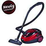Inalsa Vacuum Cleaner Easy Clean-1200W for Home with Blower Function and Reusable dust Bag (Red/Black)
