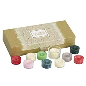 Yankee Candle Christmas 10x Tea Light Palette Gift Set