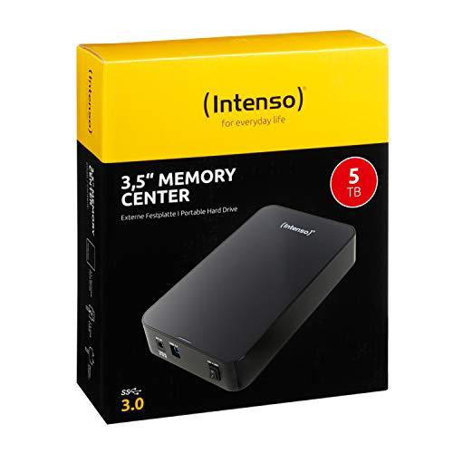 Disco duro USB Intenso de 5 TB externo