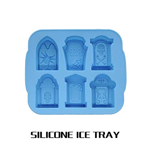 orm Ice Cube Form Creative 6-Cavity Grabstein Form Party Decor #1 ()
