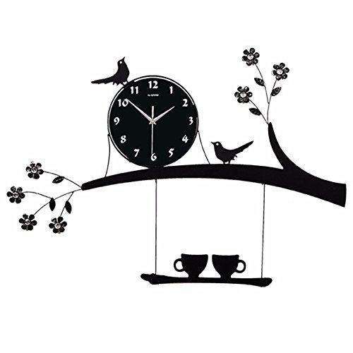 Mmynl.c non vola silenzioso matt moderno orologio a parete fai da te per soggiorno camere cucine di office