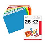 Blake Creative Colour 45123 Papel Multicolor - Sobre (C5 (162 x 229mm), Papel, Multicolor, 120 g/m², 162 mm, 22,9 cm)