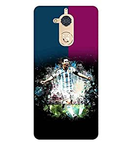 For Gionee S6 Pro sports man ( sports man, man, sports, football, stripes ) Printed Designer Back Case Cover By TAKKLOO