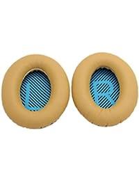 Bobury 1 par Suave Espuma de Memoria reemplazo Pad de oído Almohadillas amortiguadores Cubierta del oído de Bose AE2 QuietComfort2 QC2 QC15 AE2i AE2w