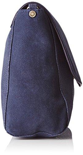 Petite Mendigote  Ambre, Damen Schultertasche Blau - Blau (Eclipse)