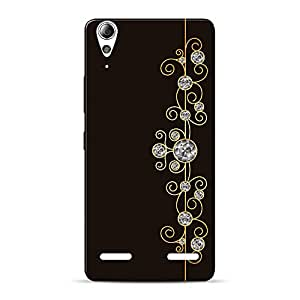 INKIF Abstract Painting Designer Case Printed Mobile Back Cover for Lenovo A6000(Brown)