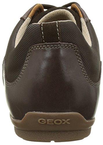 Geox Herren U Houston A Low-Top Braun (Chocolatec6005)