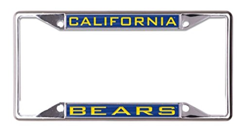 Wincraft Snack-Schale NCAA Universität California Berkeley Cal Bears 6x 12eingelegten Acryl/Metall Nummernschild Rahmen Cal Berkeley Bears