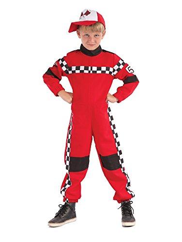 Bristol Novelty CF066 Rennfahrer Kostüm, Größe 3-5 Jahre