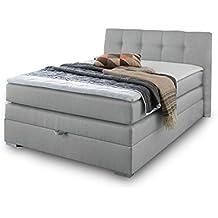 suchergebnis auf f r bett mit bettkasten 140x200. Black Bedroom Furniture Sets. Home Design Ideas