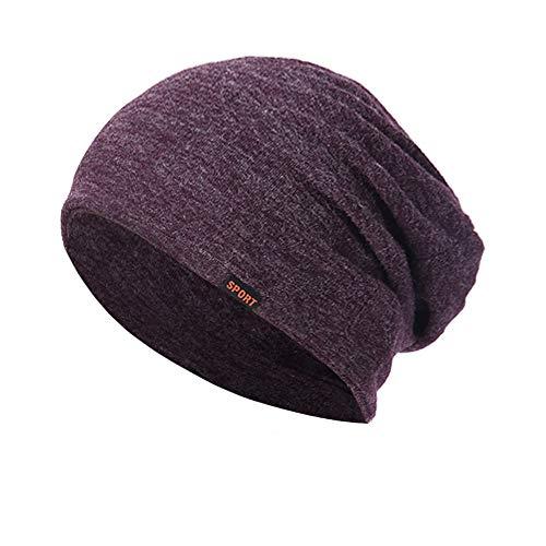 DAY.LIN Femmes Hommes Hiver Chaud Protège-oreilles Bonnet Tricoté Cachemire Chapeaux Mode Unisexe Casual Casquettes De Sport En Plein Air