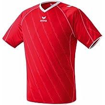 erima Trikot Roma - Camiseta de equipación de fútbol para niño, color rojo/blanco