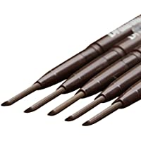 Delineador resistente al agua,Internet cosméticos de la ceja lápices de cejas(Marrón)