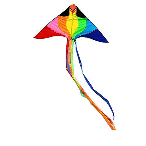 YPKHHH Kreativer Outdoor-Drachen große Kinder Fitness Spielzeug Dreieck Phönix 300m Linie + senden kleine Drachen 160cm + 85cm