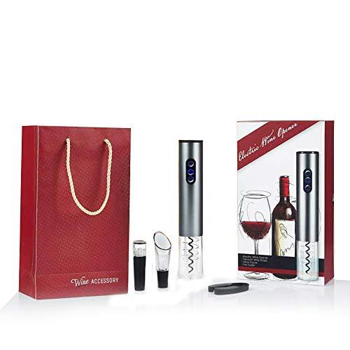 Inalámbricos Abrebotellas Vino rojo Vino Abrelatas Eléctrico Cortador de láminas Pourer Wine...