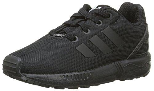 adidas Zx Flux, Unisex Baby Babyschuhe - Lauflernschuhe, Schwarz (Eqt Blue S16/Ftwr White/Core Black), 19 EU