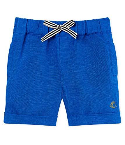 Petit Bateau Baby-Jungen Bazar Shorts, Blau (Riyadh 01), 80 (Herstellergröße: 12m/74cm)
