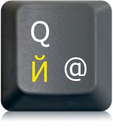 Russische Tastaturaufkleber, transparent mit Schutzschicht, русские наклейки, in