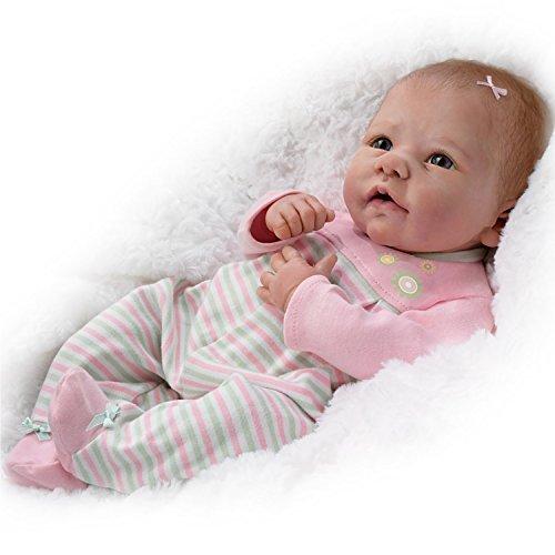 Elizabeth SO Truly Real® lebensecht & Realistische beschwert Neugeborene Baby Puppe 46von der Ashton Drake Galleries