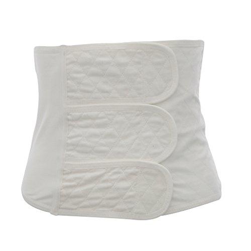 SM SunniMix Stützende Bauchbinde-Bauchband-Bauchgürtel Nach Geburt-Schwangerschaft-Kaiserschnitt mit stufenlos Verstellbarem Klettverschluss - XL