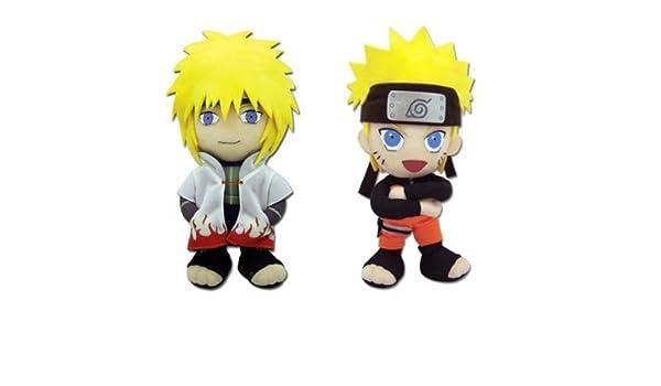 Set of 2 Great Eastern Naruto Shippuden Plush Doll - Hokage