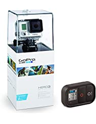 GoPro 3669-010 Hero3 (Slim Edition) Remote Set, Actionkamera (5 megapixels) weiß