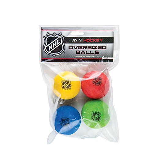 Franklin Sports Indoor Outdoor Oversized Mini Foam Hockey Balls For Kids Youth