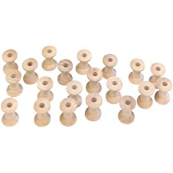 Edmunds - Juego de bobinas (madera, 20 unidades)