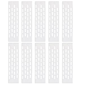 10 x Queen Bee Excluder Trapping Grid Beekeeping Tool Equipment White from Generic