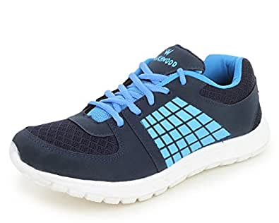 TRASE Touchwood Rise Navy Blue/White Women Sports Shoes for Running/Walking (Ultra Lightweight Sole) - 4 IND/UK