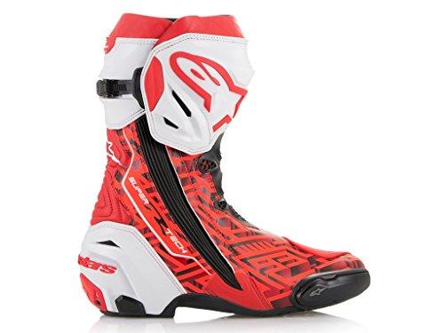 Preisvergleich Produktbild Stiefel Alpinestars Supertech R Maze Marc Marquez 93 Replica, 42