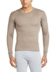 Rupa Thermocot Mens Cotton Thermal Top (8903978490502_AGNI R-N F-S -85_Brown)